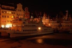 Gdańsk nocą (grudzień 2011)